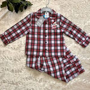 NWT Disney Minnie Mouse Plaid Pajamas (3)